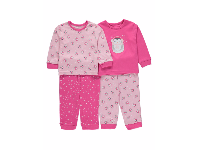 ... Пижама для девочки George Пингвины. Новинка 089d3c25e4ce6